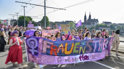 Danke für die Papizeit, Frauenstreik!